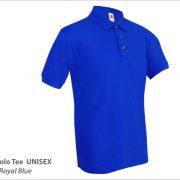 PT0108 Royal Blue Polo Tee