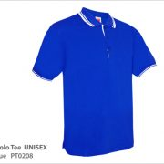 PT0208 - Royal Blue Polo Tee